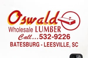 Oswald Lumber - Truck Signage
